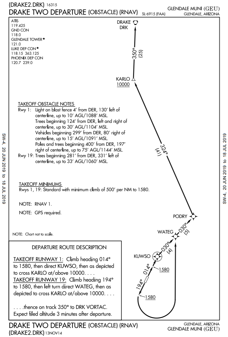 DRAKE TWO (OBSTACLE) (RNAV)