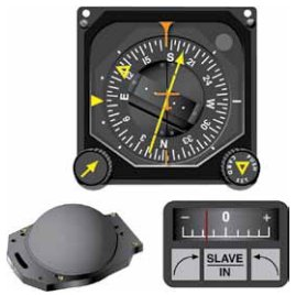 Instrument Flying Handbook. Figure 3-25, Pictorial Navigation Indicator (HSI Top), Slaving Control and Compensator Unit