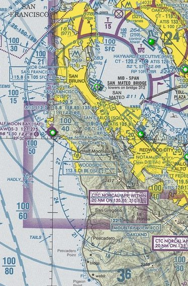 San Francisco (KSFO) Class Bravo Airspace