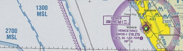 Sectional Chart Offshore