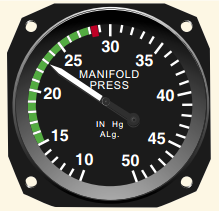 Pilot Handbook of Aeronautical Knowledge, Manifold Pressure Gauge