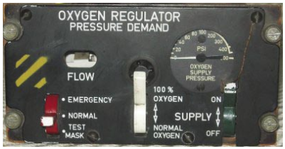 Pilot Handbook of Aeronautical Knowledge, Oxygen Regulator