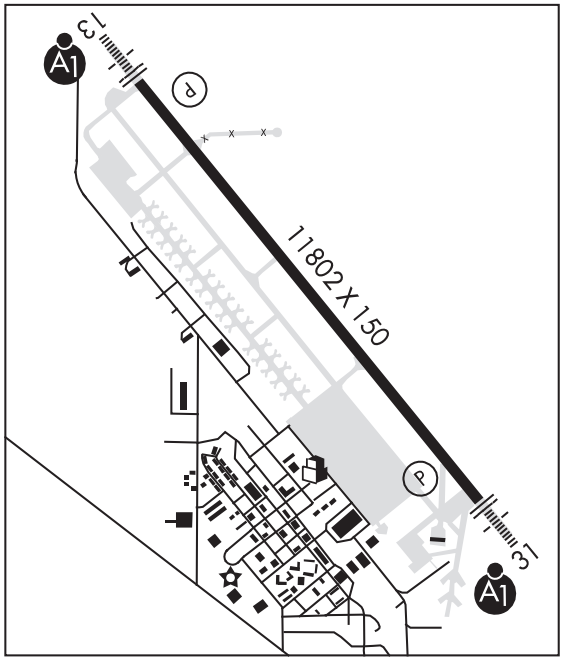 Airport Diagram - Airport lighting diagram