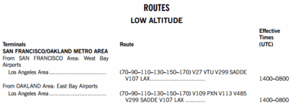Preferred IFR Routes